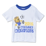 Chelsea 14/15 EPL Champions Baby Champions T-Shirt (White)