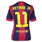 Icons Neymar Barcelona Home 14/15 Back Signed Jersey