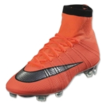 Nike Mercurial Superfly FG (Bright Mango/Metallic Silver)