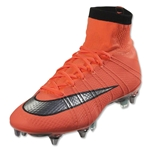 Nike Mercurial Superfly SG-Pro (Bright Mango/Metallic Silver)