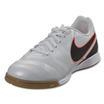 Nike Junior Tiempo Legend VI IC (Pure Platinum/Black)