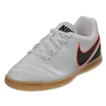 Nike Junior Tiempo Rio III IC (Pure Platinum/Black)