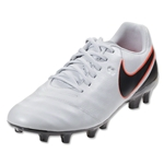 Nike Tiempo Genio II Leather FG (Pure Platinum/Black)