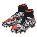 Nike Junior Hypervenom Phantom 2 NJR FG (Black/Total Crimson)