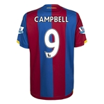 Crystal Palace 15/16 CAMPBELL Home Soccer Jersey