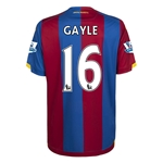 Crystal Palace 15/16 GAYLE Home Soccer Jersey