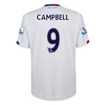Crystal Palace 15/16 CAMPBELL Away Soccer Jersey
