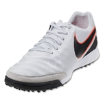 Nike Tiempo Mystic V TF (Pure Platinum/Black/Hyper Orange)