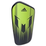 adidas Messi10 Lesto Shinguard (Semi Solar Slime/Black)