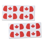 Canada Flag Eyeblacks 4 Pair