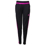 adidas Women's Tiro 15 Training Pant (Pink)