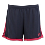 adidas Women's Tastigo 15 Knit Short (Gray/Red)