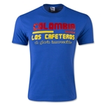 Colombia Anthem T-Shirt (Royal)