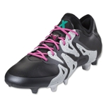 adidas X 15.1 FG/AG (Black/Shock Mint)