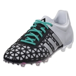 adidas Ace 15.1 FG/AG Junior (Black/Matte Silver)