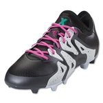 adidas X 15.1 FG/AG Junior (Black/Shock Mint)