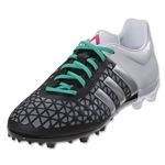 adidas ACE 15.3 FG/AG Junior (Black/Matte Silver)