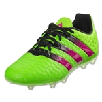 adidas Ace 16.1 FG/AG Junior (Solar Green/Shock Pink/Black)