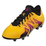 adidas X 15.1 FG/AG Junior (Solar Gold/Black/Shock Pink)