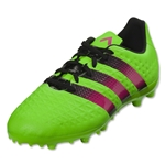 adidas Ace 16.3 FG/AG Junior (Solar Green/Shock Pink/Black)