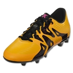 adidas X 15.3 FG/AG Junior (Solar Gold/Black/Shock Pink)
