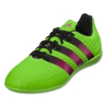 adidas Ace 16.3 IN Junior (Solar Green/Shock Pink/Black)