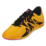 adidas X 15.3 IN Junior (Solar Gold/Black/Shock Pink)