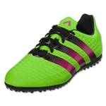 adidas Ace 16.3 TF Junior (Solar Green/Shock Pink/Black)