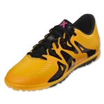 adidas X 15.3 TF Junior (Solar Gold/Black/Shock Pink)
