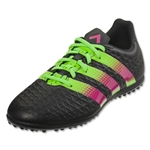 adidas ACE 16.3 TF Junior (Black/Shock Pink/Solar Green)