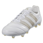 adidas Ace 16.1 FG/AG K Leather (White)