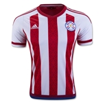 Paraguay 2016 Home Soccer Jersey