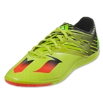 adidas Messi 15.3 IN (Semi Solar Green/Solar Red)