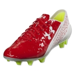 Under Armour Speedform FG (Risk Red/White/High-Vis Yellow)