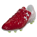 Under Armour SF Flash FG (Risk Red/White/High-Vis Yellow)