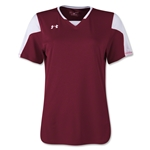 Under Armour Women's Maquina Jersey (Maroon)