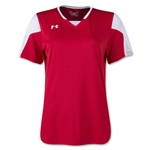 Under Armour Women's Maquina Jersey (Red)
