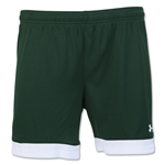 Under Armour Women's Maquina Short (Dark Green)