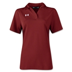 Under Armour Women's Performance Polo (Cardinal)