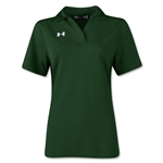 Under Armour Women's Performance Polo (Dark Green)