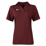 Under Armour Women's Performance Polo (Maroon)