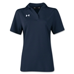 Under Armour Women's Performance Polo (Navy)
