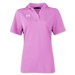 Under Armour Women's Performance Polo (Pink)