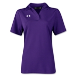 Under Armour Women's Performance Polo (Purple)