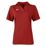 Under Armour Women's Performance Polo (Red)