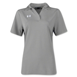 Under Armour Women's Performance Polo (Gray)