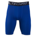 adidas TechFit Base Layer 9 Short Tight (Royal Blue)