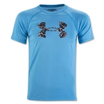 Under Armour Youth Tech Big Logo T-Shirt-Red (Blue)