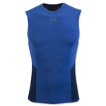 Under Armour HeatGear Coolswitch Compression Sleeveless T-Shirt (Royal Blue)