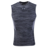 Under Armour HeatGear Coolswitch Compression Sleeveless T-Shirt (Gray)